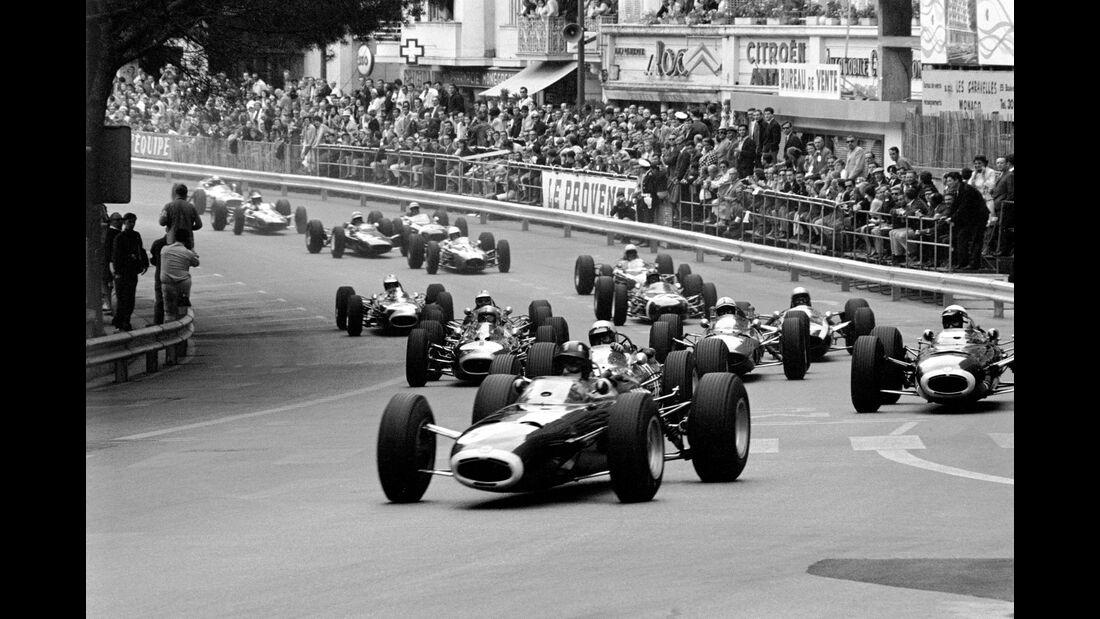 Graham Hill - BRM P261 - GP Monaco 1965