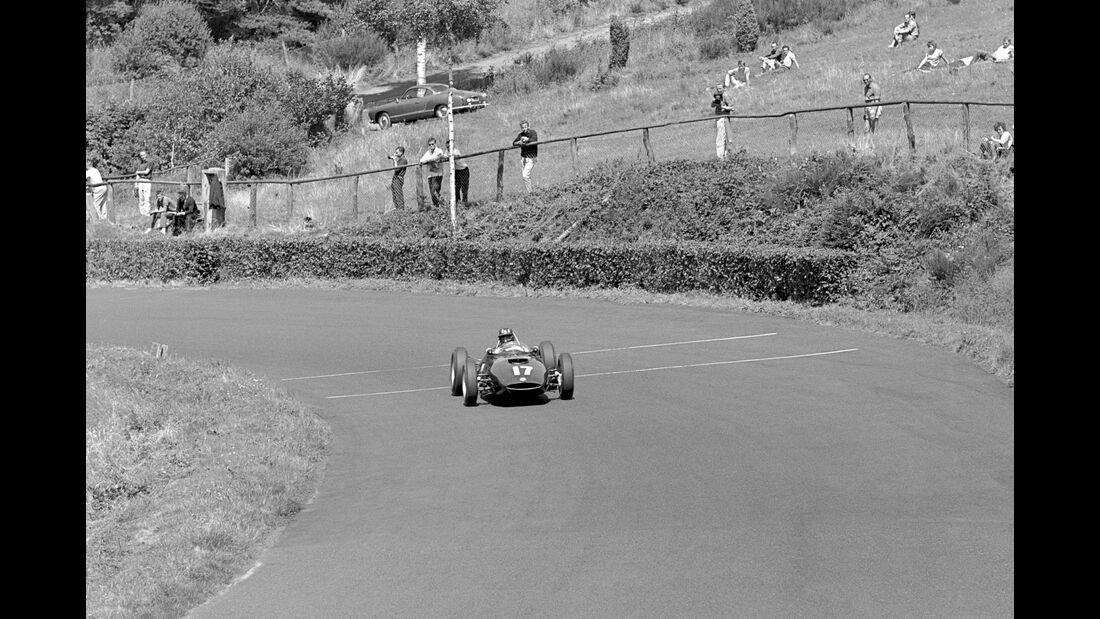 Graham Hill - BRM P48/57 - GP Deutschland 1961 - Nürburgring