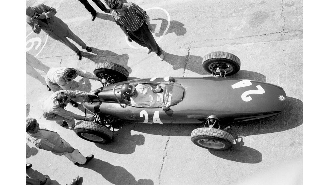 Graham Hill - BRM P48/57 - GP Italien 1961 - Monza