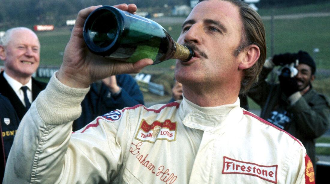Graham Hill - GP England 1968