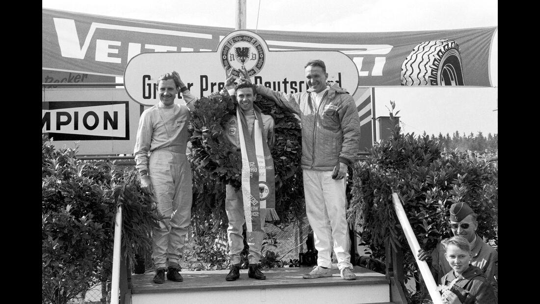 Graham Hill - Jim Clark - Dan Gurney - GP Deutschland 1965