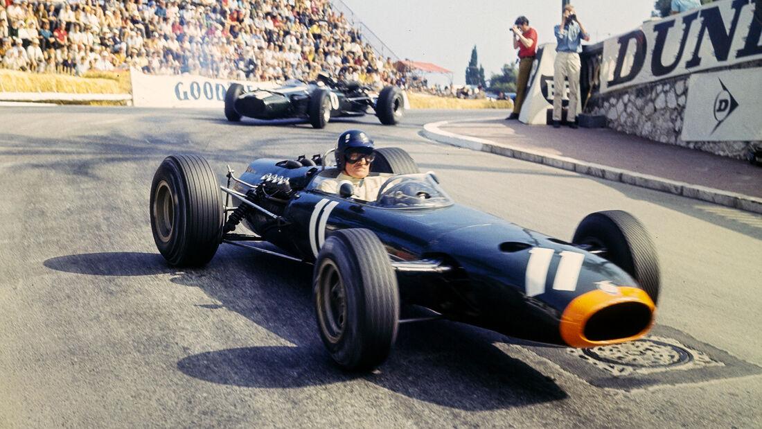 Graham Hill & Jochen Rindt - GP Monaco 1966