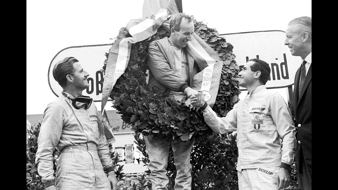 Graham Hill - John Surtees - Lorenzo Bandini - Nürburgring 1964