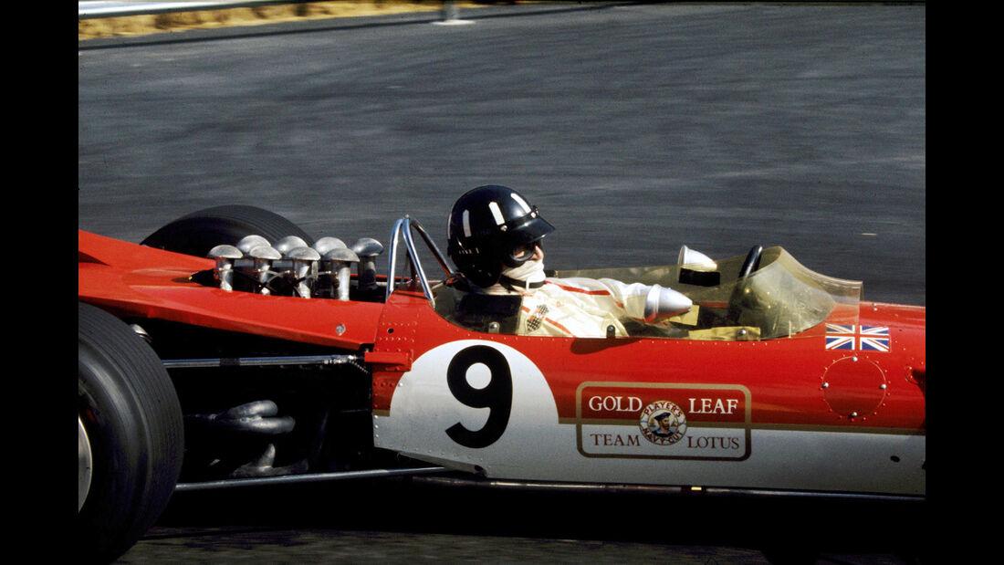 Graham Hill - Lotus 49 - GP Monaco 1968