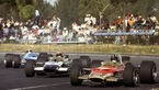 Graham Hill - Lotus Cosworth 49 - Jo Siffert - Jackie Stewart - GP Mexiko 1968