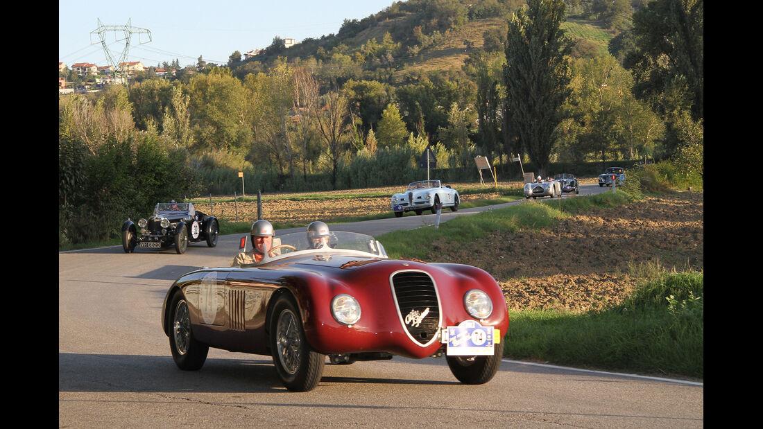 Gran Premio Nuvolari, Alfa Romeo 6C 2500 SS, Frontansicht