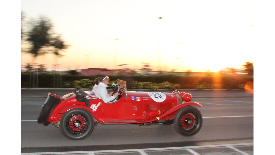 Gran Premio Nuvolari, Alfa Romeo 6C !750 SS, Seitenansicht