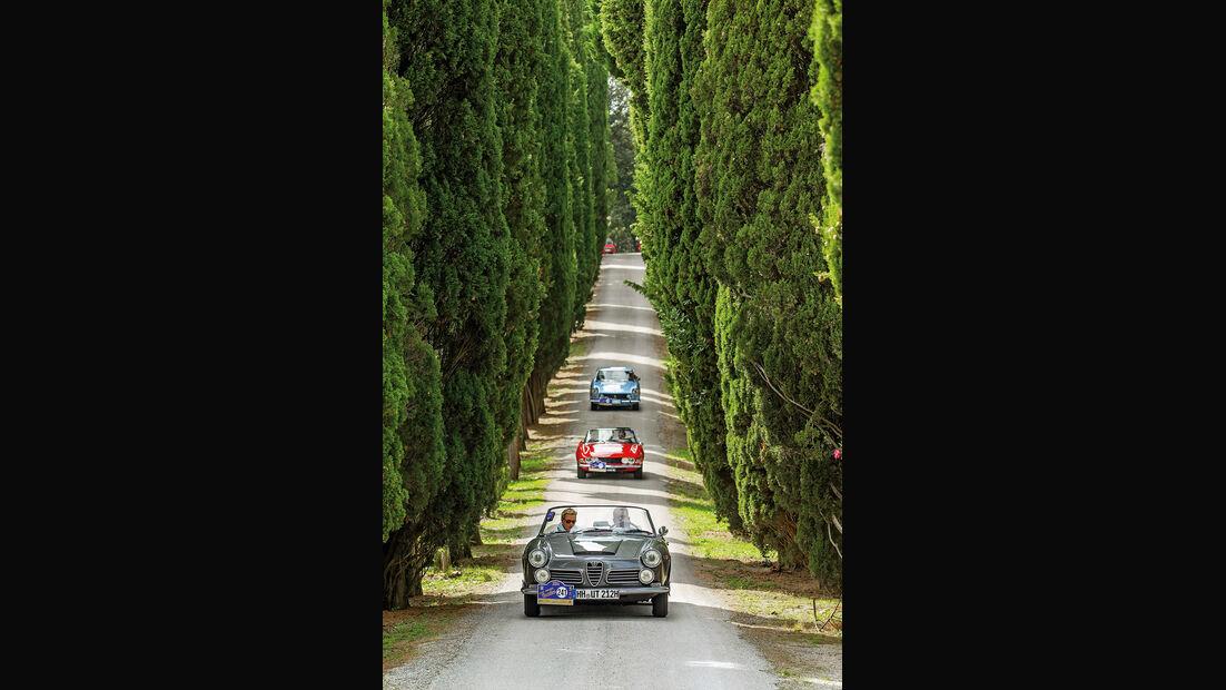 Gran Premio Nuvolari, Alfa Romeo, Fiat Dino und Ferrari