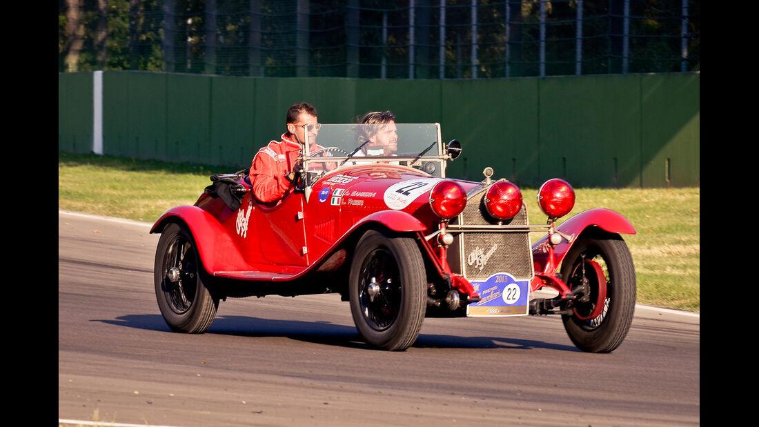 Gran Premio Nuvolari, Alfa Romeo, Frontansicht