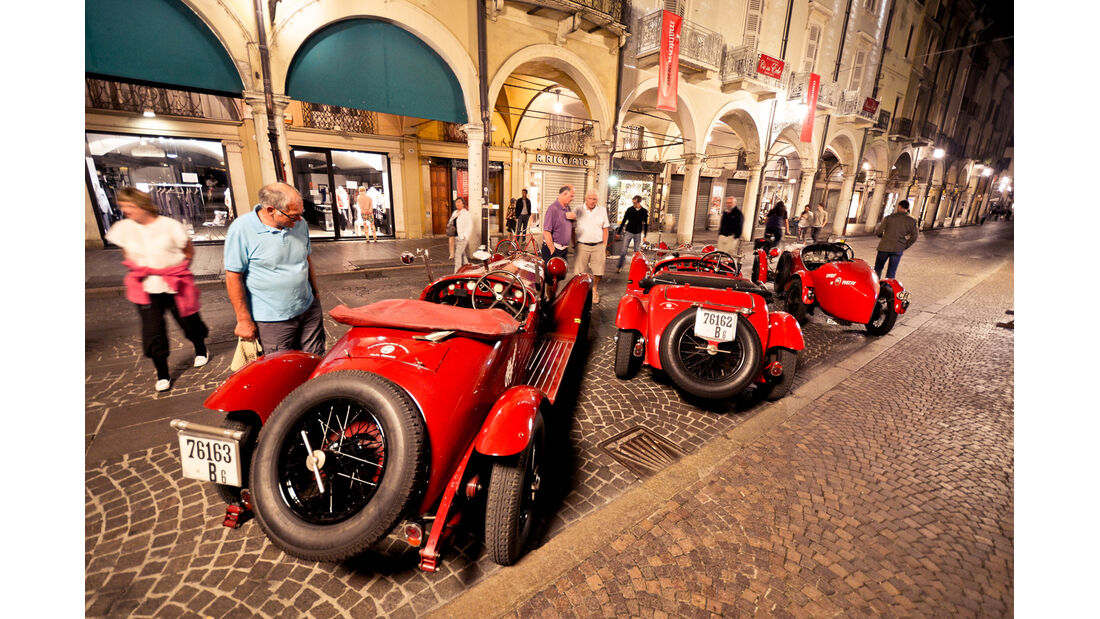 Gran Premio Nuvolari, Alfa Romeo, Heckansicht