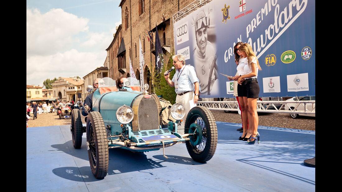 Gran Premio Nuvolari, Bugatti, Zielankunft