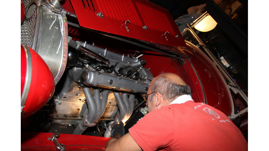 Gran Premio Nuvolari, Motor, Reparatur
