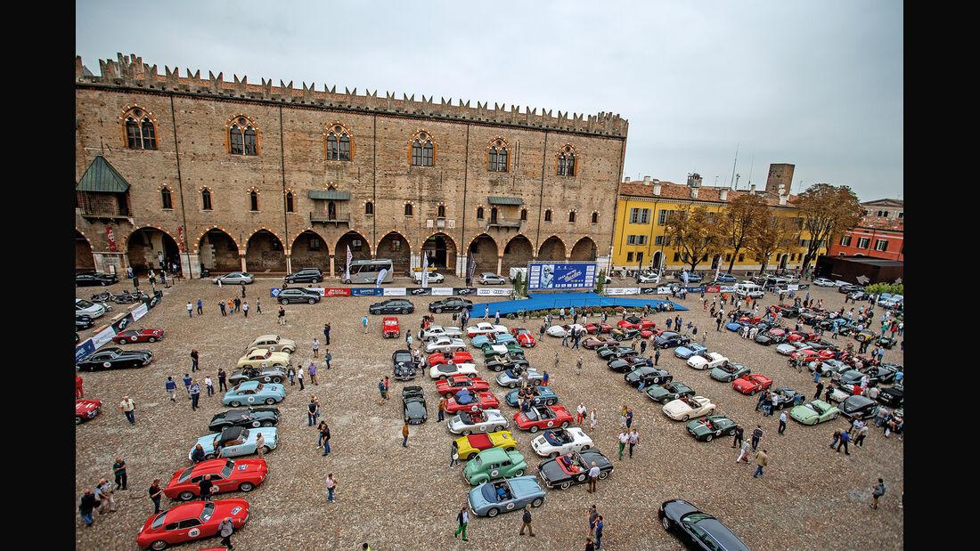 Gran Premio Nuvolari, Piazza Sordello in Mantua, Starterfeld