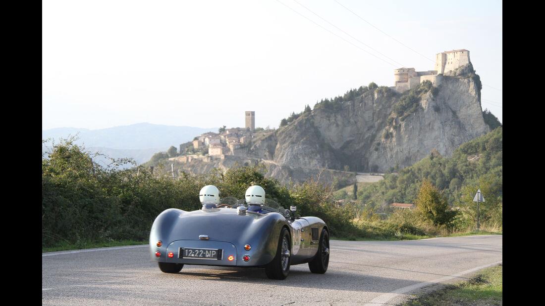 Gran Premio Nuvolari, Rennszene, Burg