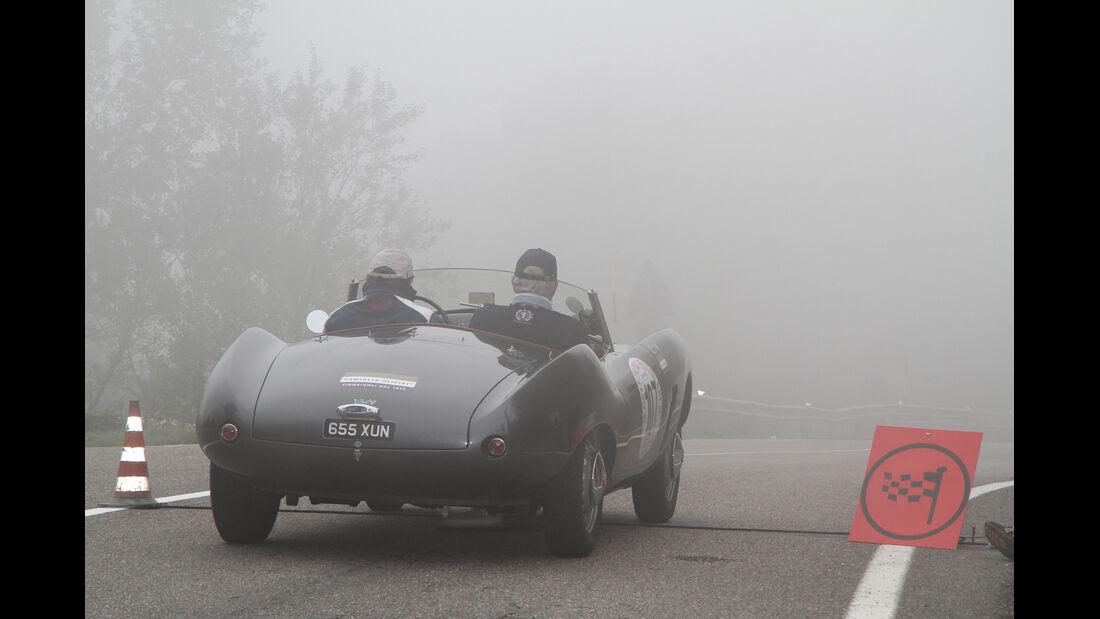 Gran Premio Nuvolari, Rennszene, Nebel