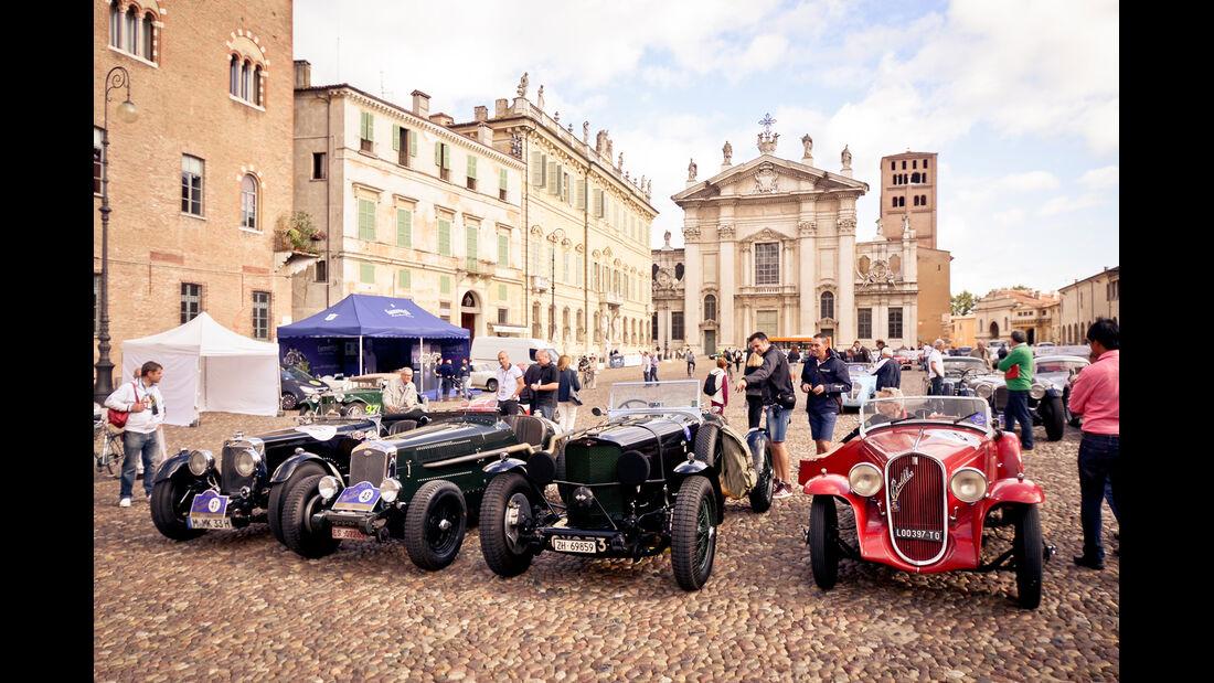 Gran Premio Nuvolari, Teilnehmerfahrzeuge