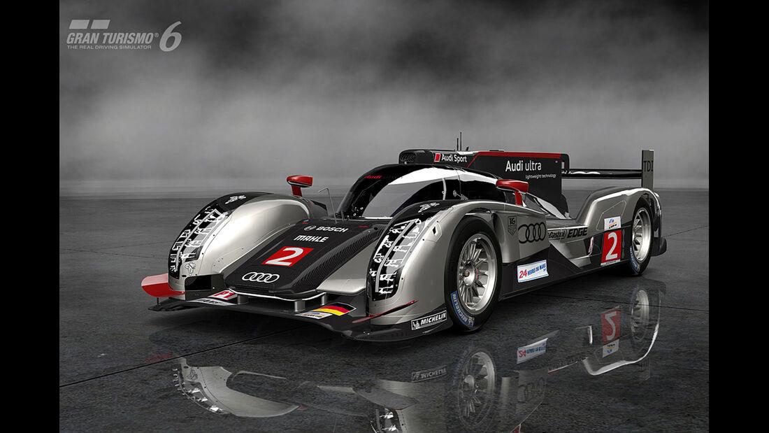 Gran Turismo 6 - Audi R18 TDI (Audi Sport Team Joest) '11