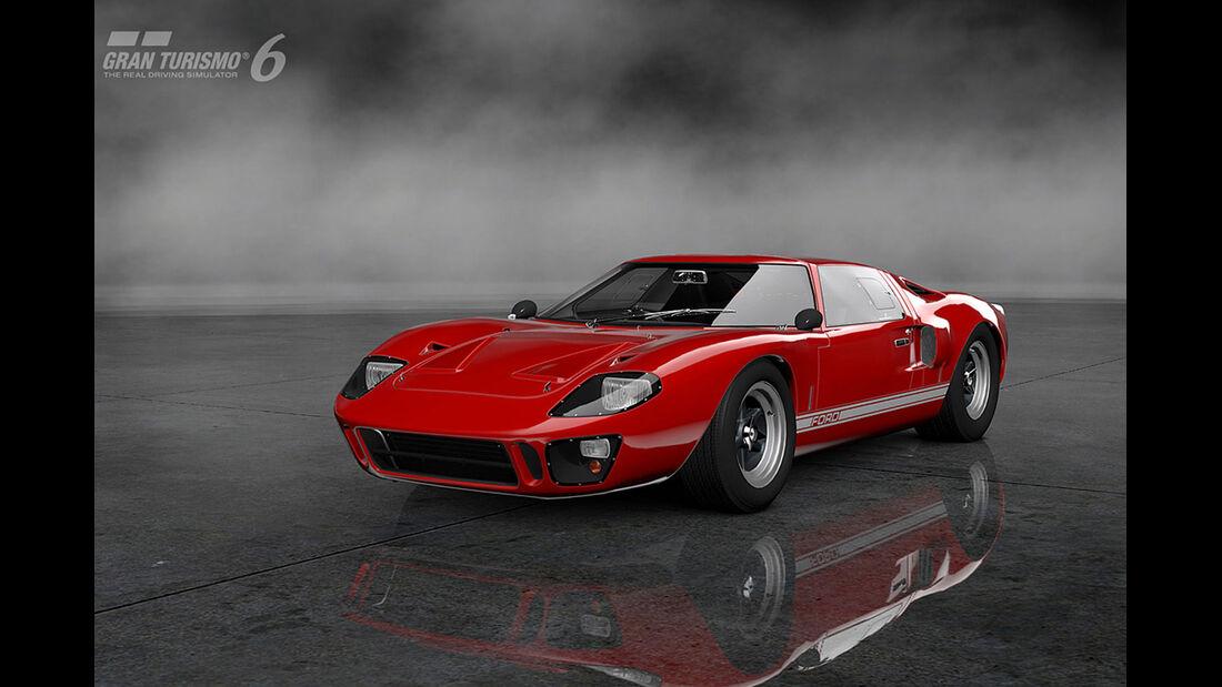 Gran Turismo 6 - Ford GT40 Mark I '66