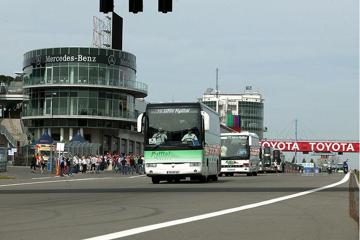 Grand Prix per Bus am Nürburgring