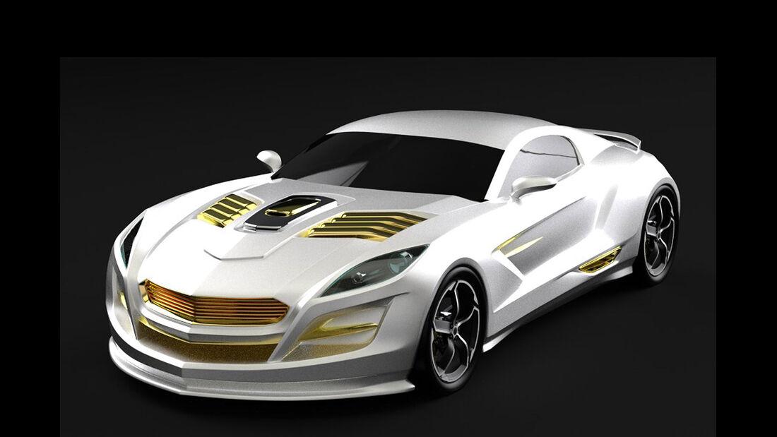 Gray Design Zeus Twelve Gold Rush