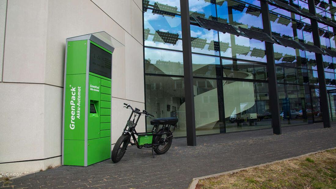 Green Pack Akku Batterie Tausch