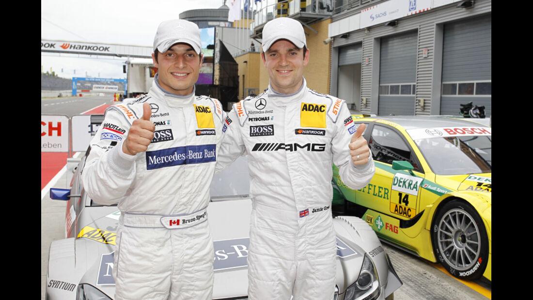 Green Spengler DTM Lausitzring 2011