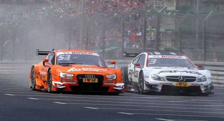 Green vs. Di Resta - DTM Norisring 2015