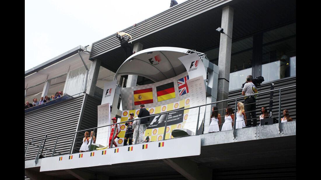 Greenpeace Aktion GP Belgien 2013