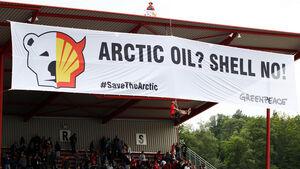Greenpeace Plakat GP Belgien 2013