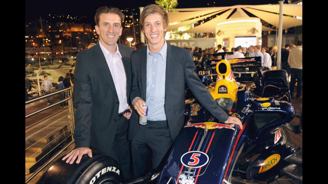 Gregor Schlierenzauer Markus Prock beim GP Monaco
