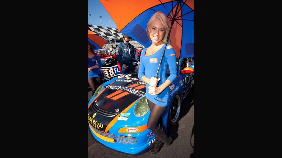 Grid Girl 24h Daytona 2011