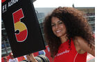 Grid Girl - F1 - GP Italien - 11. September 2011