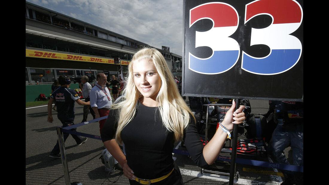 Grid Girl - Formel 1 - GP Belgien 2016
