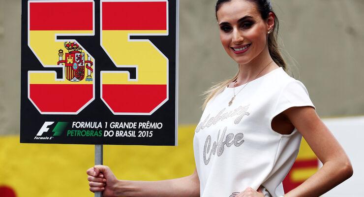 Grid Girl - Formel 1 - GP Brasilien- 15. November 2015