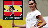 Grid Girl - Formel 1 - GP Brasilien- 15. November 2015