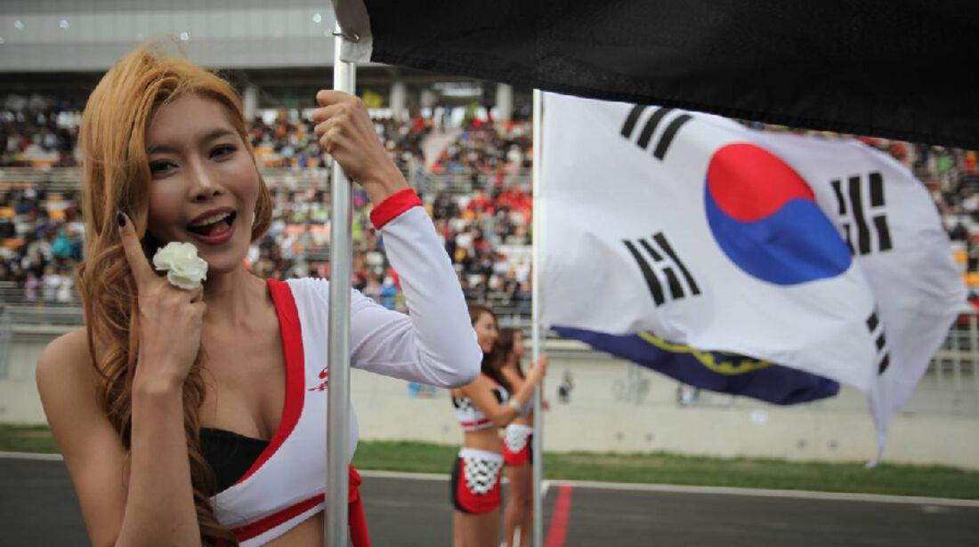 Grid Girl - Formel 1 - GP Korea - 16. Oktober 2011