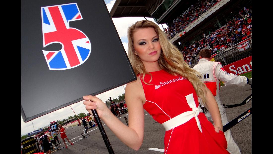 Grid Girl - Formel 1 - GP Spanien 2013