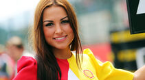 Grid Girl - GP Belgien 2014