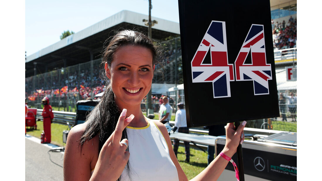 Grid Girl - GP Italien 2015