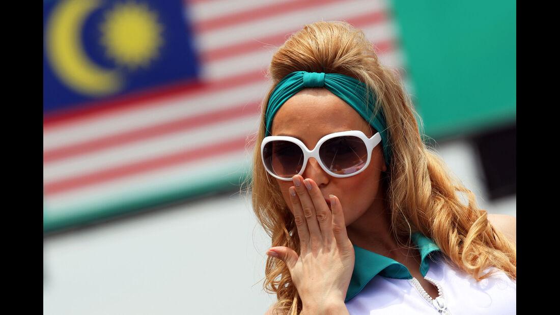 Grid Girl GP Malaysia 2012