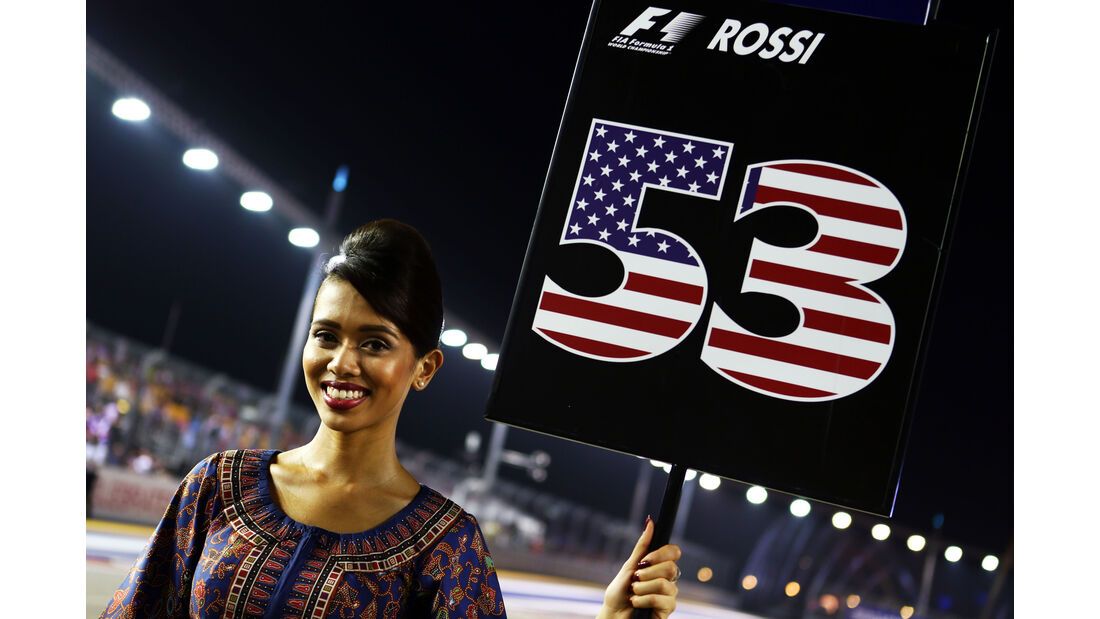 Grid Girl - GP Singapur 2015