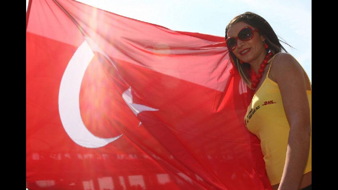 Grid Girl GP Türkei 2011