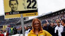 Grid Girl Glock Hockenheim 2013