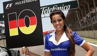 Grid Girl Hülkenberg GP Brasilien 2010
