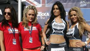 Grid Girl - Le Mans-Serie - Silverstone - 11. September 2011