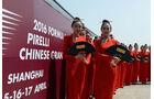 Grid Girl - Statistik - GP China 2016