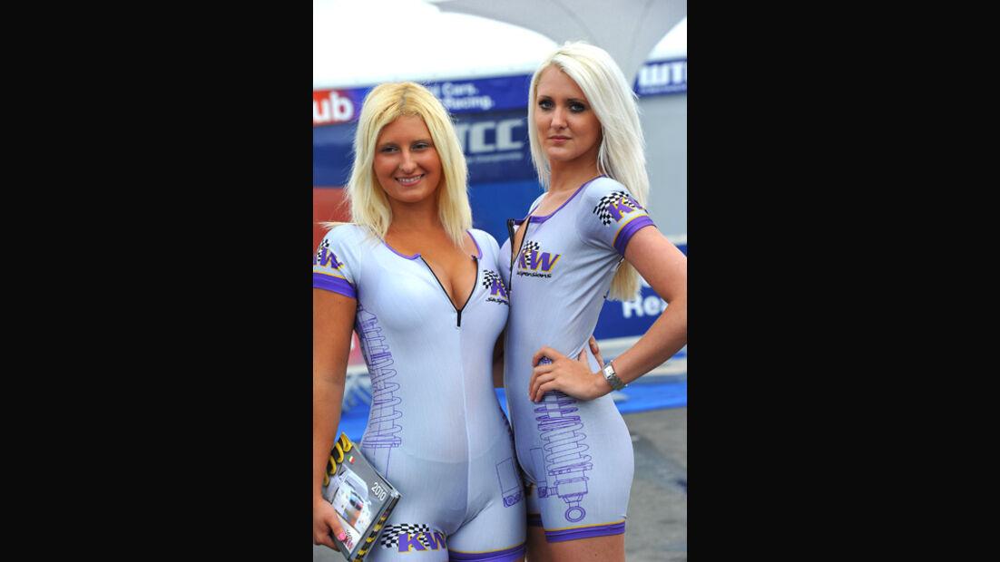 Grid Girl WTCC Monza 2011
