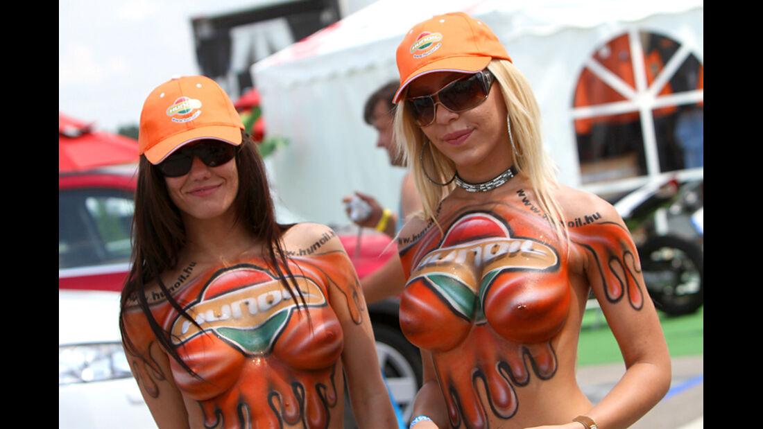 Grid Girl WTCC Ungarn 2011