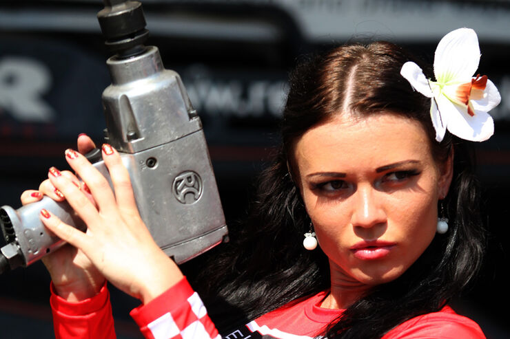Grid Girls 2011