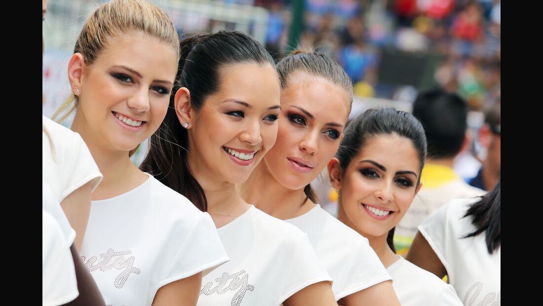 Grid Girls & Boys - GP Brasilien 2015